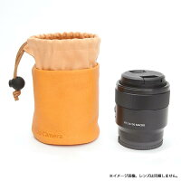 《新品アクセサリー》MAPCAMERA(マップカメラ)オリジナルレンズポーチPigskinイエロー【KK9N0D18P】