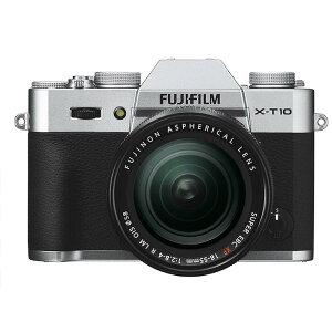 《新品》 FUJIFILM(フジフイルム) X-T10 レンズキット シルバー 【下取交換なら…