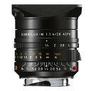 【あす楽】《新品》 Leica(ライカ) ズミルックス M28mm F1.4 ASPH. ブラック[ Lens | 交換レンズ ] 【...