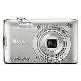 《新品》 Nikon (ニコン) COOLPIX A300 シルバー[ コンパクトデジタルカメラ ]【KK9N0D18P】