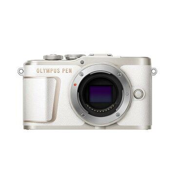 《新品》OLYMPUS (オリンパス) PEN E-PL10 ボディ ホワイト [ ミラーレス一眼カメラ   デジタル一眼カメラ   デジタルカメラ ] 【KK9N0D18P】【UCギフトカード5,000円分プレゼント対象】