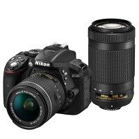 《新品》Nikon(ニコン)D5300AF-Pダブルズームキットブラック[デジタル一眼レフカメラ デジタル一眼カメラ デジタルカメラ]【KK9N0D18P】発売予定日:2017年2月17日