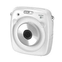 《新品》FUJIFILM(フジフイルム)ハイブリッドインスタントカメラinstaxSQUARESQ10ホワイト【KK9N0D18P】発売予定日:2017年11月17日