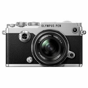 《新品》 OLYMPUS (オリンパス) PEN-F 12mmF2.0レンズキット シルバー【…