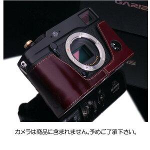 《新品アクセサリー》 GARIZ(ゲリズ) フジフイルム X-PRO1用ケース ブラウン
