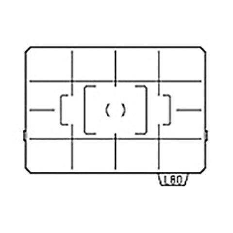 《新品アクセサリー》 PENTAX(ペンタックス) フォーカシングスクリーン AF分割マット LL-80(分割)対応機種 :K20D、K10D【KK9N0D18P】〔メーカー取寄品〕