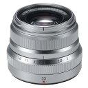 《新品》 FUJIFILM(フジフイルム) フジノン XF35mm F2 R WR シルバー[ Lens   交換レンズ ]【KK9N0D18P】