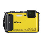 《新品》Nikon (ニコン) COOLPIX AW130 イエロー [ コンパクトデジタルカメラ ]【KK9N0D18P】