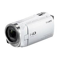 《新品》SONY(ソニー)デジタルHDビデオカメラレコーダーHDR-CX485ホワイト[ビデオカメラ]発売予定日:2016年1月22日