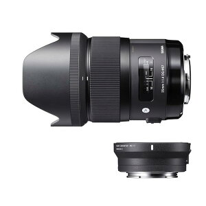《新品》 SIGMA (シグマ) A 35mm F1.4 DG & マウントコンバーター MC…