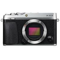 《新品》FUJIFILM(フジフイルム)X-E3ボディシルバー発売予定日:2017年9月28日[ミラーレス一眼カメラ|デジタル一眼カメラ|デジタルカメラ]【KK9N0D18P】