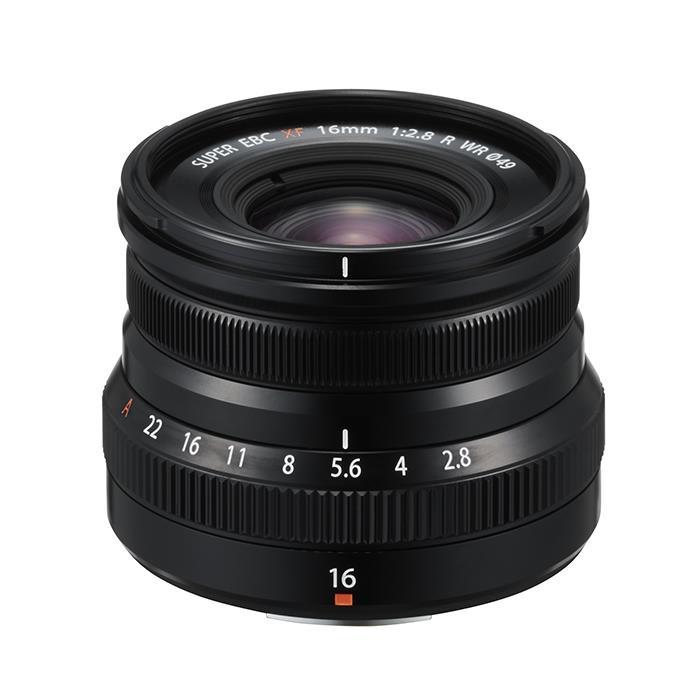 《新品》FUJIFILM フジノン XF16mmF2.8 R WR ブラック