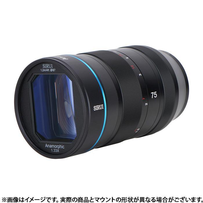 カメラ・ビデオカメラ・光学機器, カメラ用交換レンズ SIRUI () 75mm F1.8 Anamorphic (EOS M) Lens KK9N0D18P