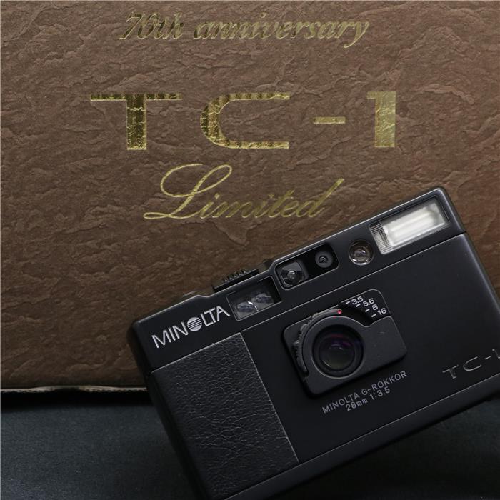 フィルムカメラ, コンパクトフィルムカメラ  MINOLTA TC-1 Limited 70
