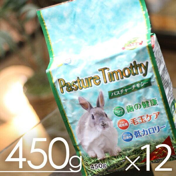 毎週 の新鮮在庫 パスチャーチモシー牧草450gx12袋 (1ケース)