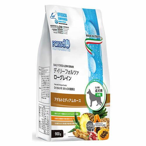 FORZA10 デイリーフォルツァ 犬 アダルト ミディアム ホース 中粒 3kg(500g×6袋)