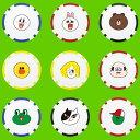 【メール便送料無料】 ゴルフマーカー キャラクター ボールマーカー LINE FRIENDS ライン フレンド X-819 [ゴルフ用品 ゴルフ小物 ゴルフコンペ 景品]