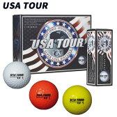 【あす楽対応】 USA TOUR DISTANCE+α ゴルフボール 12球入り
