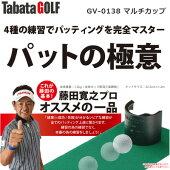 【即納】タバタゴルフマルチカップパットの極意GV-0138/ゴルフ練習器具スイングパター練習器具練習マットゴルフ練習マット練習用品ゴルフ用品