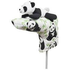 【送料無料】パンダパターカバーピンタイプWHC1791ゴルフ用品アニマル動物かわいい