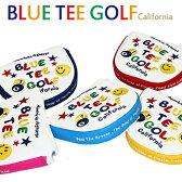 【即納】【メール便送料無料】 BLUE TEE GOLF パターカバー マレット スマイル&ピンボール WS111 [ヘッドカバー おしゃれ レディース かわいい]