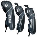 【メール便送料無料】 PING ピン G425 ヘッドカバー ドライバー用 フェアウェイウッド用 ハイブリッド用 クロスオーバー用 純正品 日本正規品 ゴルフ用品・・・