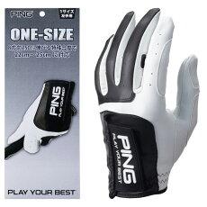 【メール便送料無料】PINGピンゴルフワンサイズグローブGL-P203左手用右手用ゴルフ用品ゴルフグローブ手袋