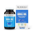 Dr. Mercola クリルオイル 1000mg【180カプセル】 ドクターメルコラ Krill Oil その1