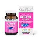 Dr. Mercola 女性用 クリルオイル 1000mg【90カプセル】 ドクターメルコラ Krill Oil for Women その1