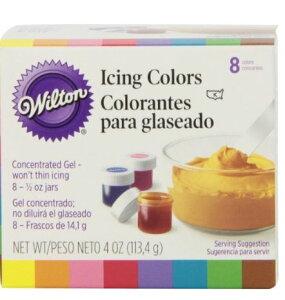 アイシング用カラー8色キットWILTON 【ウィルトン】 アイシングカラーキット 8色  各14g