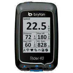 5000円以上で【送料無料】bryton(ブライトン)Rider 40Eサイクルコンピューター