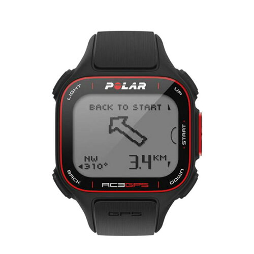 POLAR(ポラール)RC3GPSHRハートレートセンサー付きトレーニングコンピューターブラック【自転車】