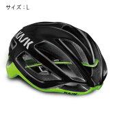 KASK(カスク) PROTONE プロトーン ブラック/ライム サイズL ヘルメット 【自転車】