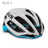 KASK(カスク) PROTONE プロトーン ホワイト/ライトブルー サイズL ヘルメット 【自転車】