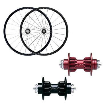 GOKISO (ゴキソ) GD2 クライマー クリンチャー シマノ用 ホイールセット 24mm 【自転車】【ロードバイク】