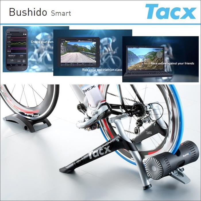 【楽天市場】TACX (タックス) Bushido Smart ブシドウ スマート ローラー台 【自転車
