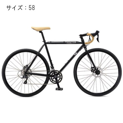 FUJI(フジ)2017モデルFEATHERフェザーCX+スペースブラックサイズ58完成車【自転車】
