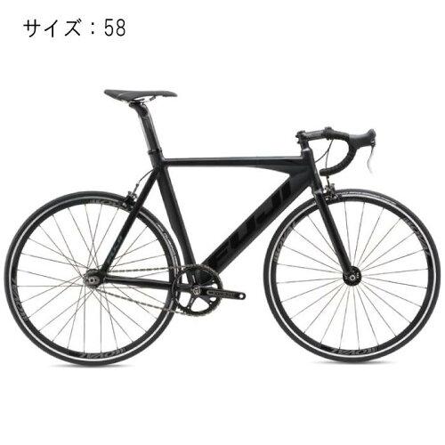 FUJI(フジ)2017モデルTRACKPROマットブラックサイズ58完成車【自転車】