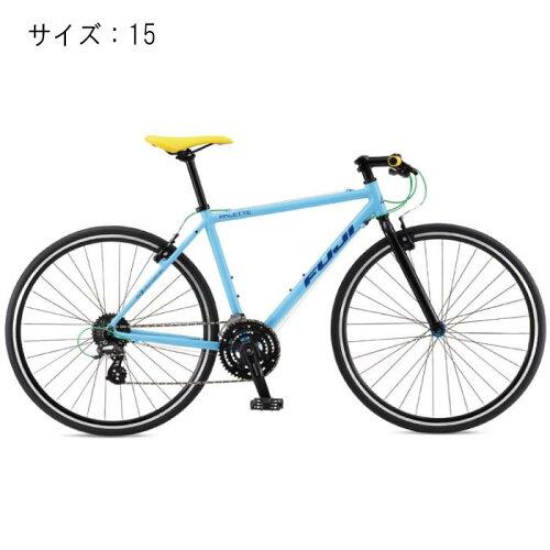 FUJI(フジ) 2017モデル PALETTE パレット  ベビーブルー サイズ15 完成車 【自転車】 【セーフティーメンテナンス1年間無料】
