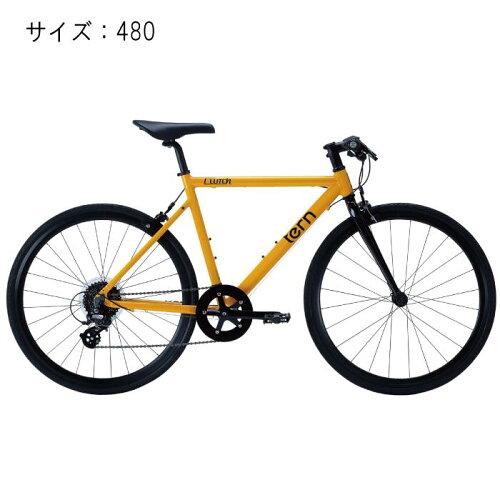 TERN (ターン) 2017モデル Clutch クラッチ イエロー サイズ480 完成車 【自転車】