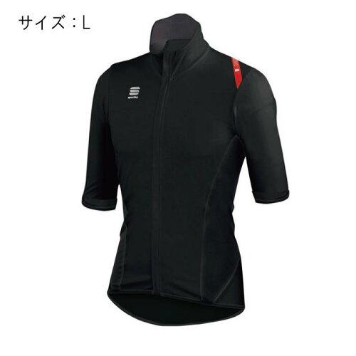 Sportful(スポーツフル)FIANDRELIGHTNORAINShortSleevesブラックサイズLジャージ【自転車】