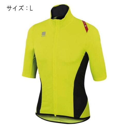Sportful(スポーツフル)FIANDRELIGHTNORAINShortSleevesイエローサイズLジャージ【自転車】