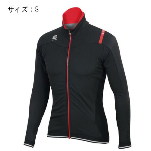 Sportful(スポーツフル)FIANDRENORAINブラックサイズSレインジャケット【自転車】
