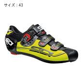 SIDI(シディ) GENIUS 7 MEGA ブラック/イエロー/ブラック サイズ43 ビンディングシューズ 【自転車】