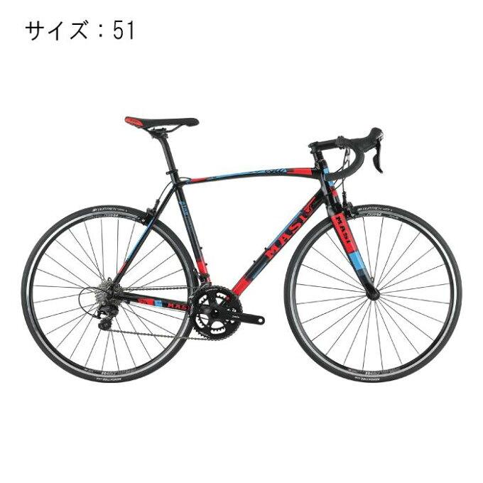 MASI (マジ)GRAN CORSA EvoBlack/レッド サイズ51 完成車...