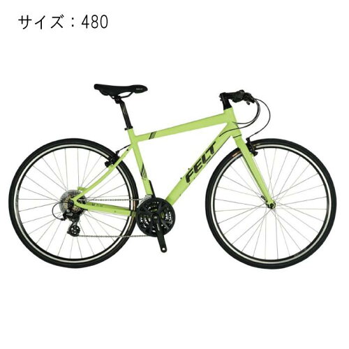 FELT(フェルト)2017モデルVERZASPEED50マットピスタチオサイズ480mm完成車【自転車】