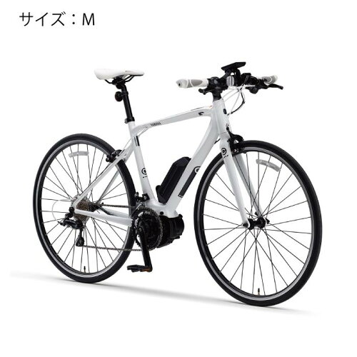 YAMAHA(ヤマハ)YPJ-CサイズMピュアホワイト電動アシスト完成車【自転車】
