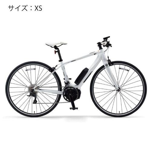 YAMAHA(ヤマハ)YPJ-CサイズXSピュアホワイト電動アシスト完成車【自転車】