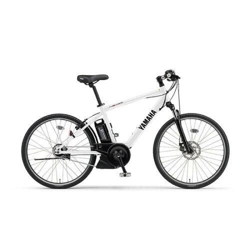 YAMAHA(ヤマハ)2017年モデルPASBraceパスブレイス26型クリスタルホワイト電動アシスト完成車【自転車】