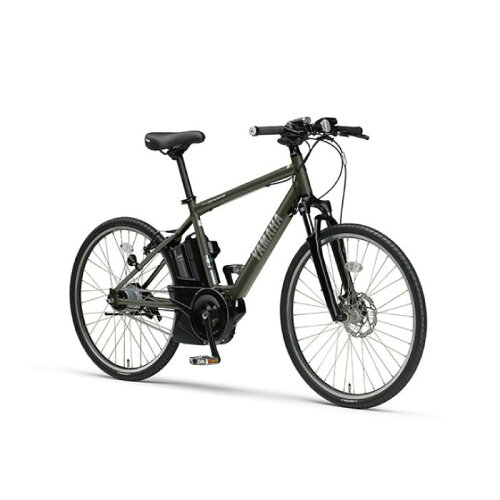 YAMAHA(ヤマハ)2017年モデルPASBraceパスブレイス26型マットグラファイト電動アシスト完成車【自転車】